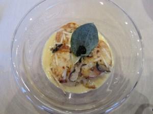 Truffled Scallops at Maison du Terroir