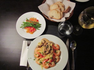 Shrimp & Pasta